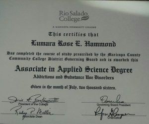 Degree in Associates