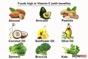 Increase vitamin E