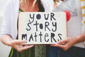 If your story can touch just one person you've done the great work!