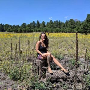 spend time laughing flagstaff yellow flowers & me
